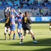 Girls footy at Blundstone Arena 10th April 2016