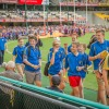 Jindalee Jags 2015 Premier Teams walk around the Gabba