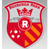 Roxburgh Park United SC Red Logo