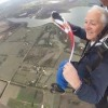Vice Commodore Michael McLean went sky diving today with the burgee in hand, congratulations Michael!