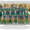 Australian Team Photos
