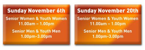 Senior Trial Dates
