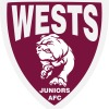 Wests Juniors Maroon Logo