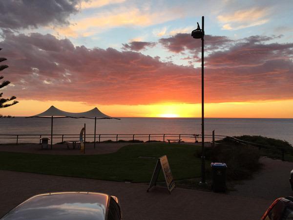 Sunset at csc