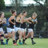 2017 - Round 1 - Flemington Juniors v Caroline Springs U15 Girls