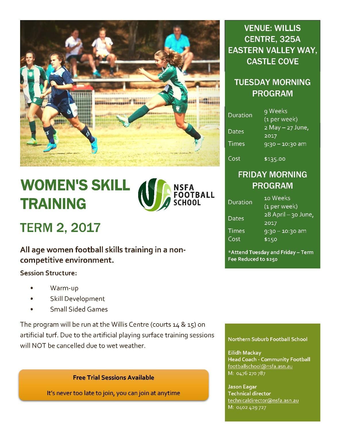 Women's Skill Training