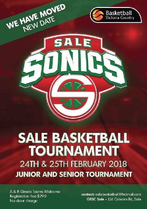 Sale Basketball Tournament 2018