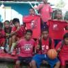 Elementary Boys Basketball Champion. Team Rita Elem. School. Photo: Rickiano Antibas.