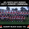 2017 AFLNEB JUNIOR CARNIVAL TEAM PHOTOS