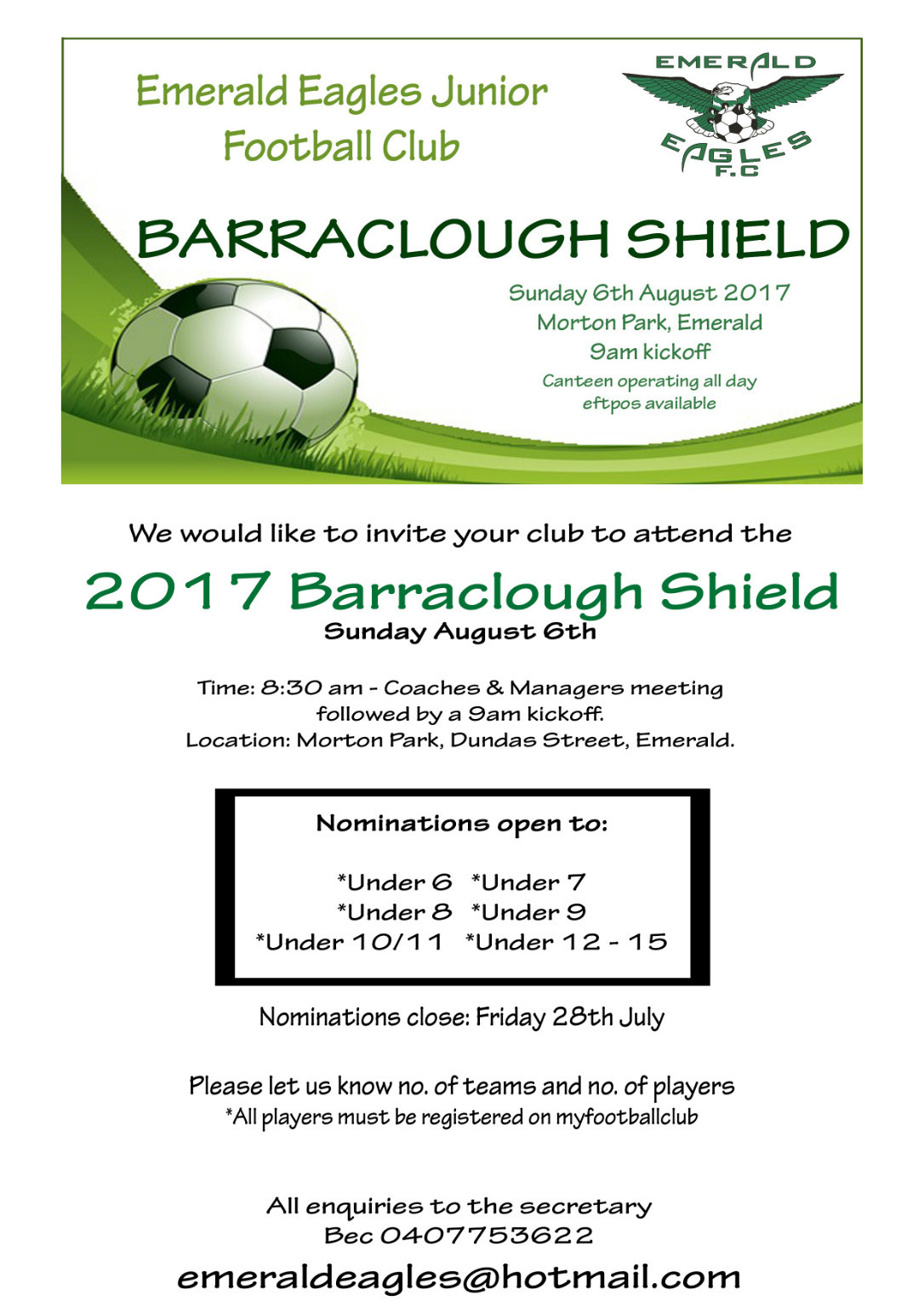 Barraclough Shield