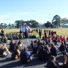 Collingwood AFL Women's visit and female footy Superclinic