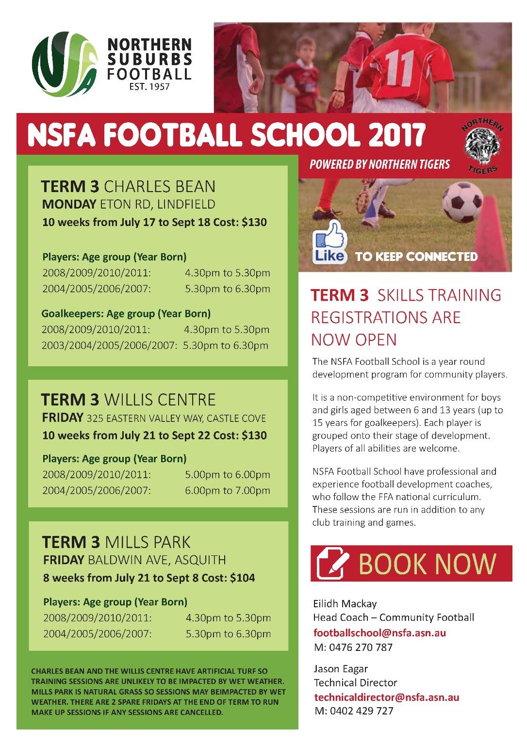 NSFA Football School Term 3