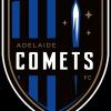 Adelaide Comets - Blue Logo