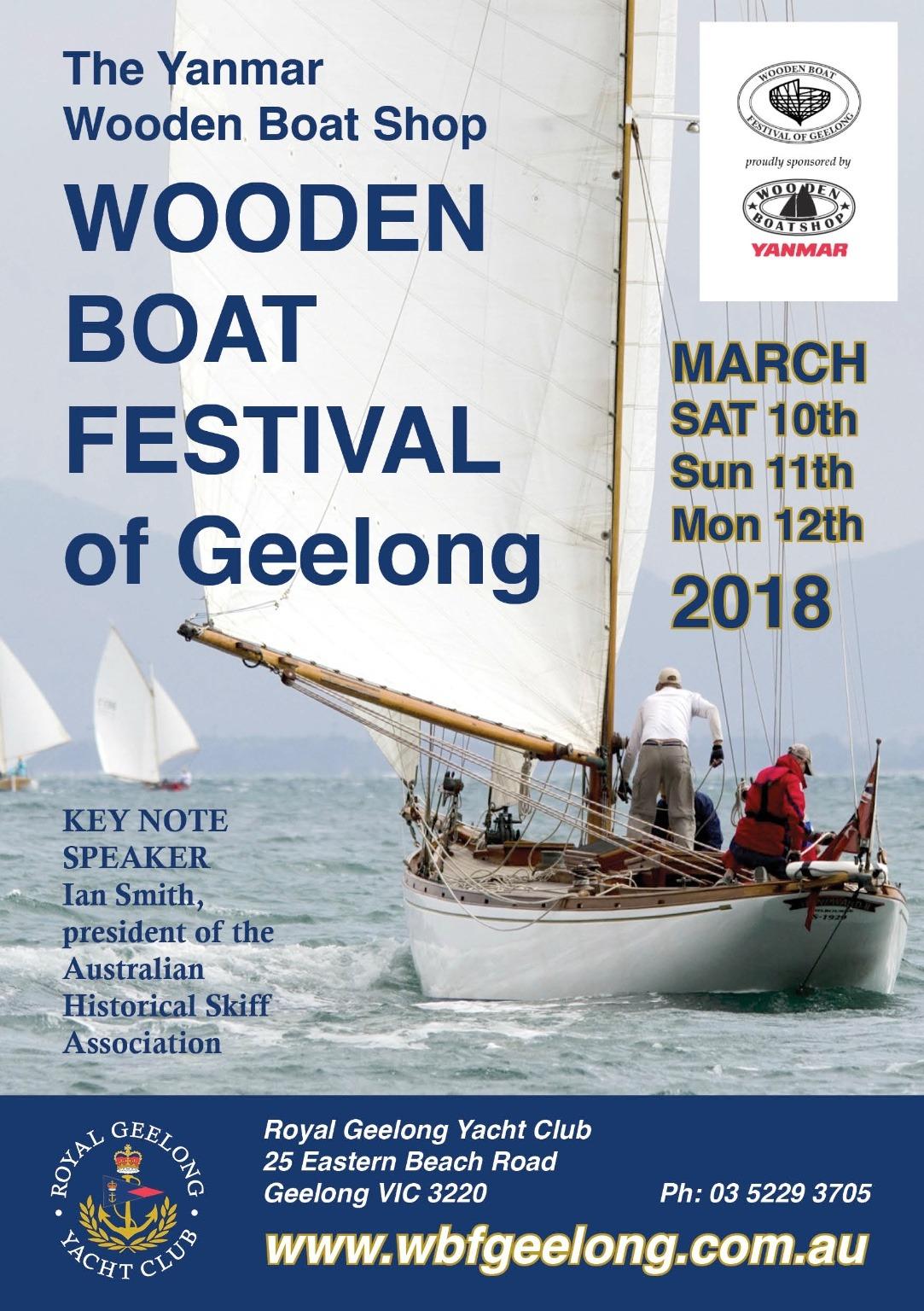 Geelong Wooden Boat Festival Queenscliff Cruising Yacht Club