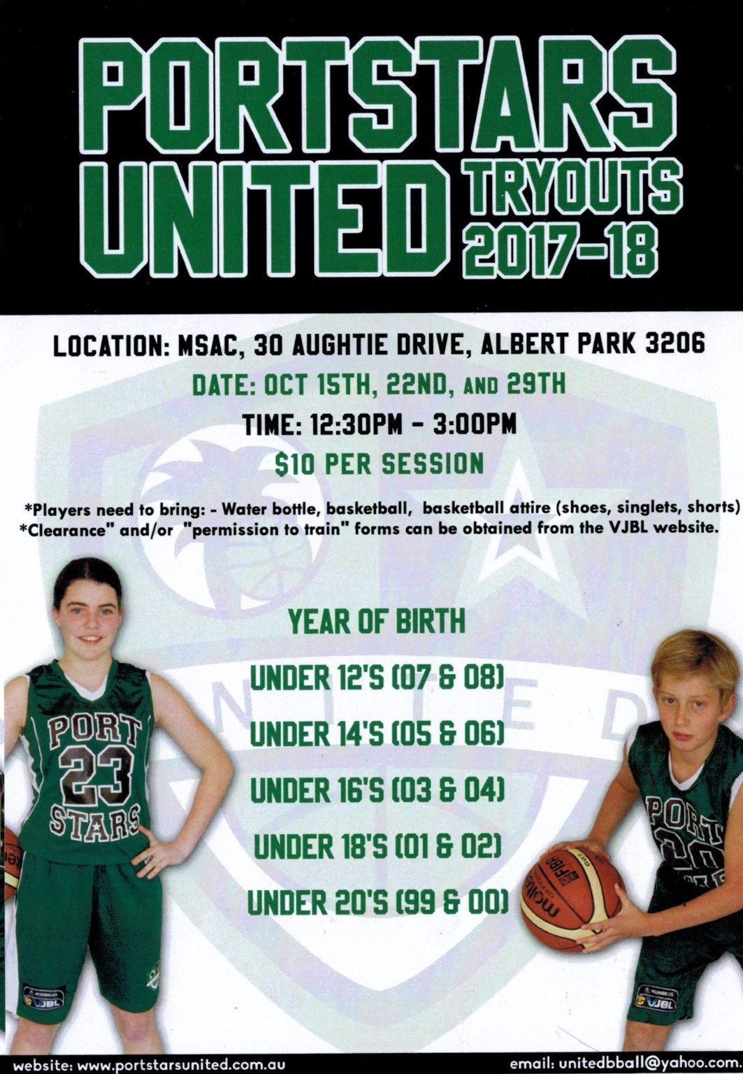 Port Stars United Try Outs