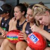 Collingwood AFLW Female Footy Clinic