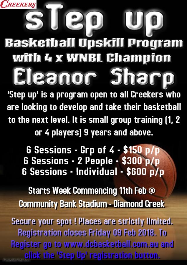 Step Up program term 1