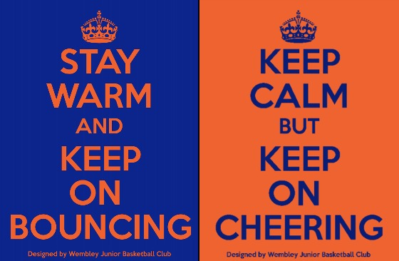 Stay warm and keep on bouncing