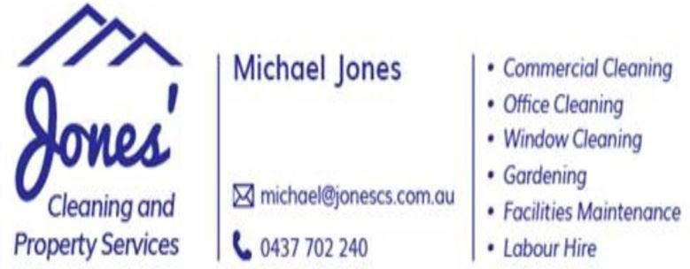 JONES CLEANING AND PROPERTY SERVICES