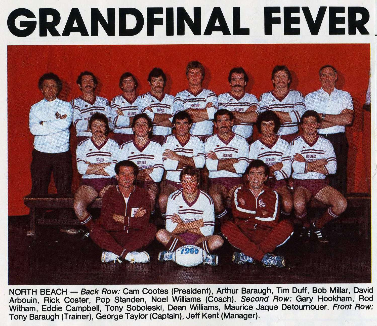 1980 First Grade Premiers