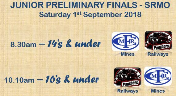 Junior Preliminay final fixture