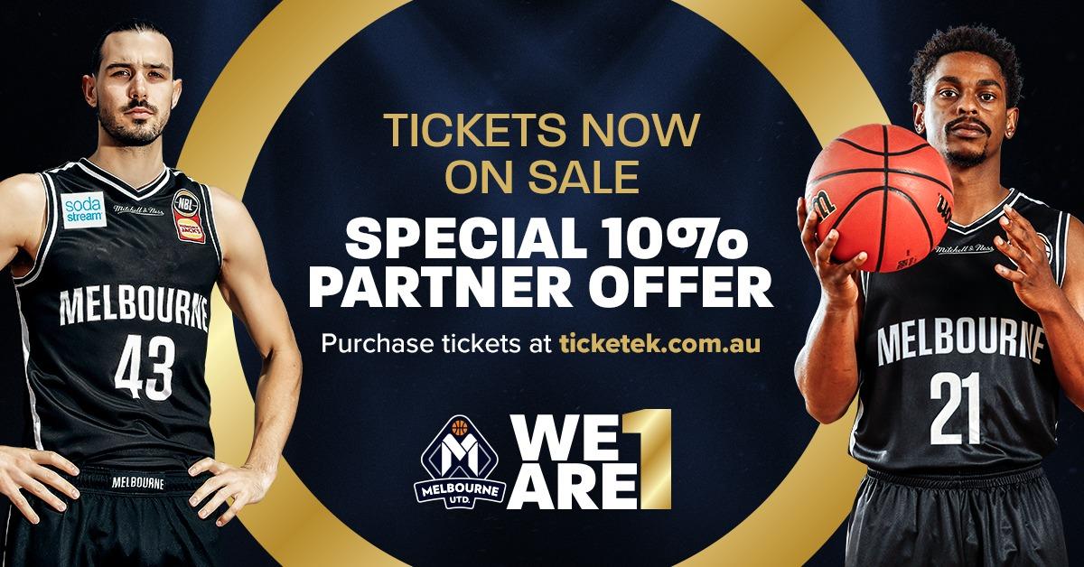 Melbourne United Ticket Offer