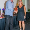 Highest Goal Scorer - O35(1) Men: Accepted by Buderim President Ian Marks on behalf of Mark Cavanagh, Buderim FC (20 Goals)