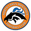 North Lakes Mustangs U6 Lightning Logo