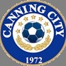 Canning City FC (White) Logo