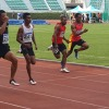 Naz and Linus - 100m semi-final in Bangkok