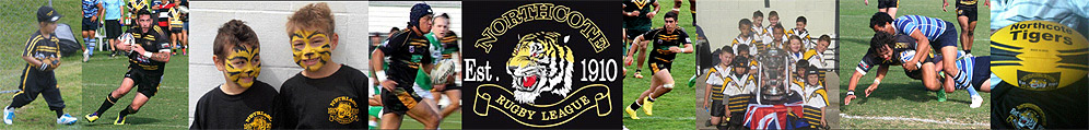 NORTHCOTE TIGERS RUGBY LEAGUE & SPORTS CLUB INC