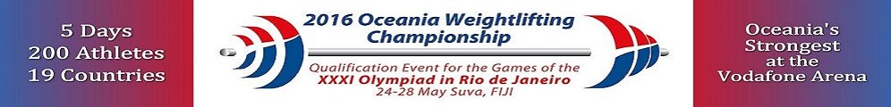 Oceania Weightlifting New