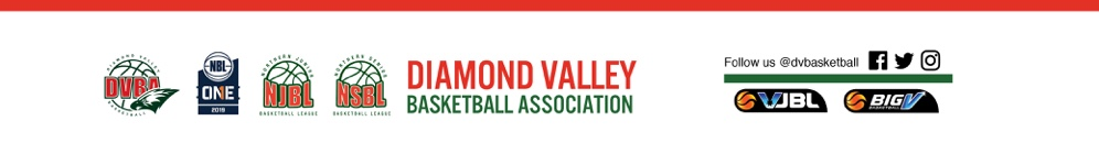 Competitions at Diamond Valley Basketball Association - SportsTG