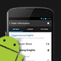 >Android App launched!