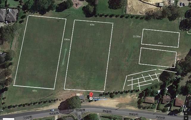 Stephens Park Aerial