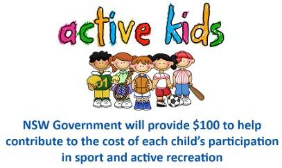 NSW Active Kids voucher